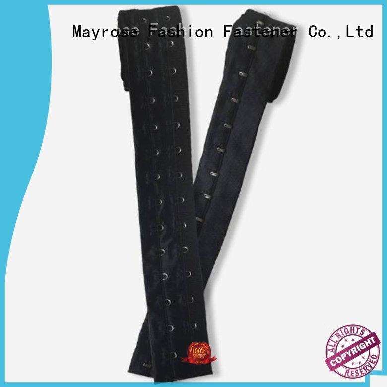 spandex material brushed all tape Mayrose Brand bra hook extenders