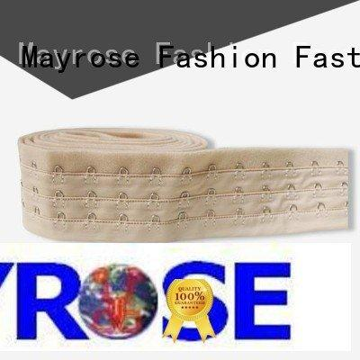 spandex material corest hook front Mayrose