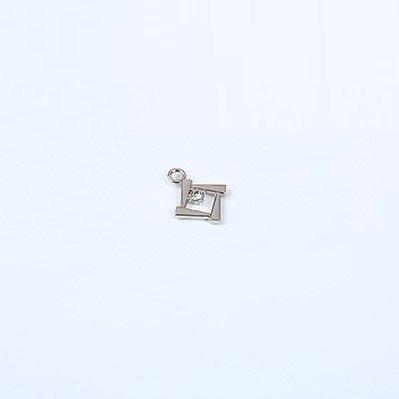 Mayrose-Bra Charms 7247 Zinc Alloy With Crystal | Charms | Mayrose Fastener-3