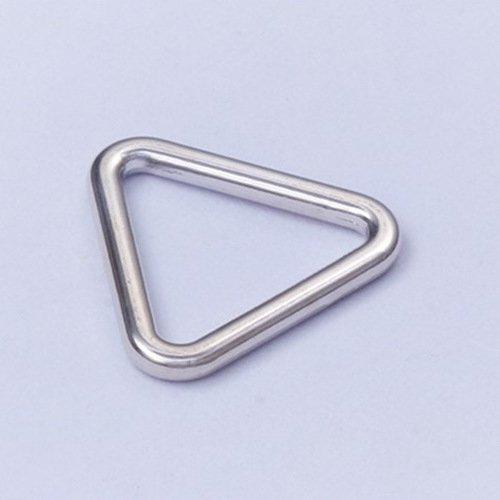 Mayrose-Zinc Alloy Adjuster Triangle Shape 010-7 | Ringslidehookspeical Shape-2