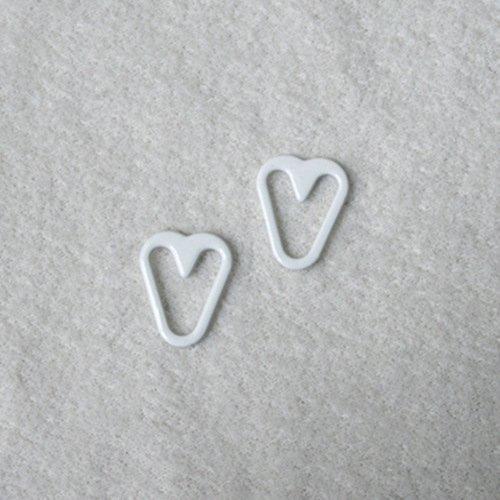 Mayrose-Nylon Coated Heart Shape Q012 | Bra Extension For Backless Dress | Rin