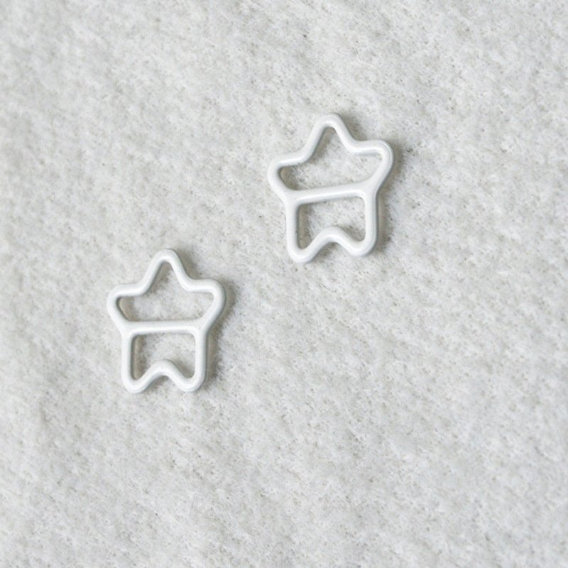 Mayrose-Best Nylon Coated Adjuster Star Shape N49 Bra Strap Slides And Rings-2