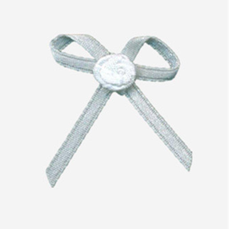 Mayrose-Nylon Ribbon Bow #13 With Flower | Ribbons And Bows | Bow