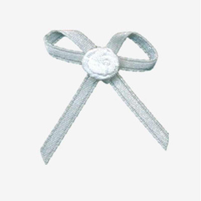 Mayrose-Nylon Ribbon Bow #13 With Flower | Ribbons And Bows | Bow-1