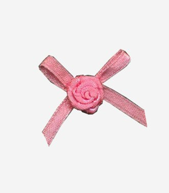 Mayrose-Professional Nylon Ribbon Bow #15 With Flower Supplier