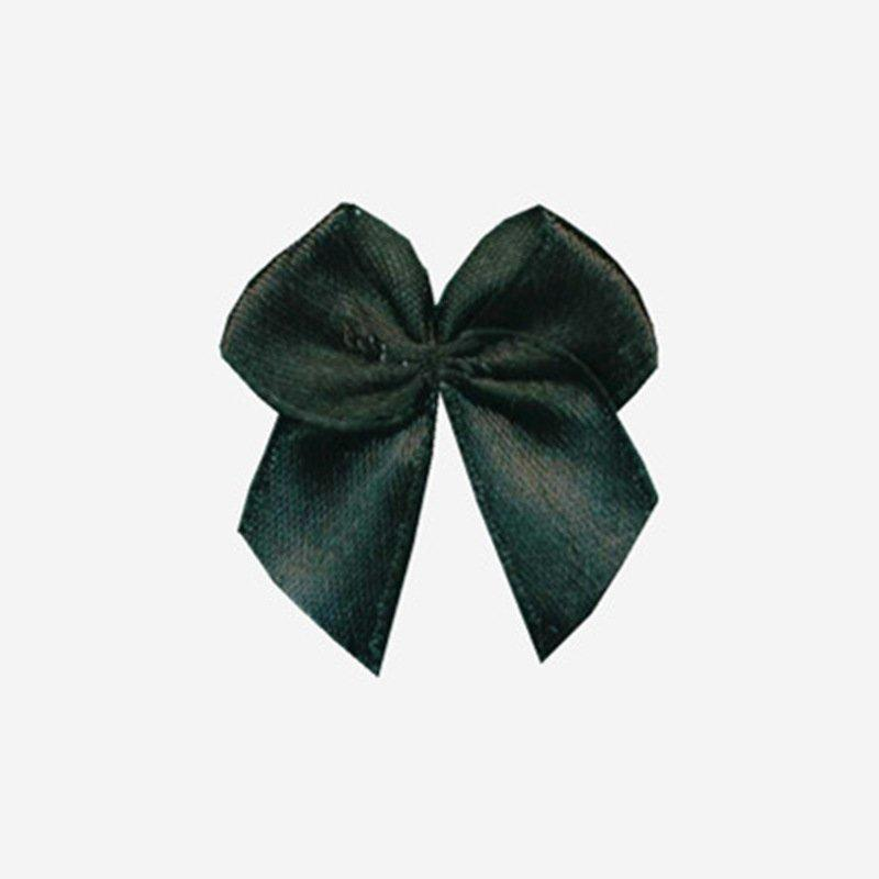 OEM wire ribbon bow polyester nylon flower bra with bow
