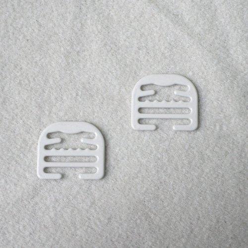 Mayrose-Professional Metal Strap Adjuster Buckle Nylon Coated buckle po13