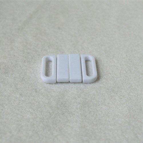 Mayrose-Plastic Front closure Buckle clear Clasps L16f49 | Bra Hook To Mak