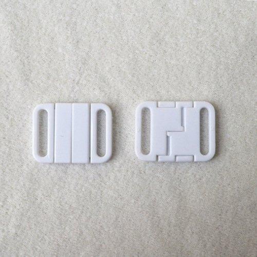 Mayrose-Plastic Front closure Buckle clear Clasps L16f49 | Bra Hook To Mak-2
