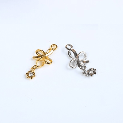 Mayrose-High Quality Bra Charms 7068 Zinc Alloy With Jewel | Charms-1