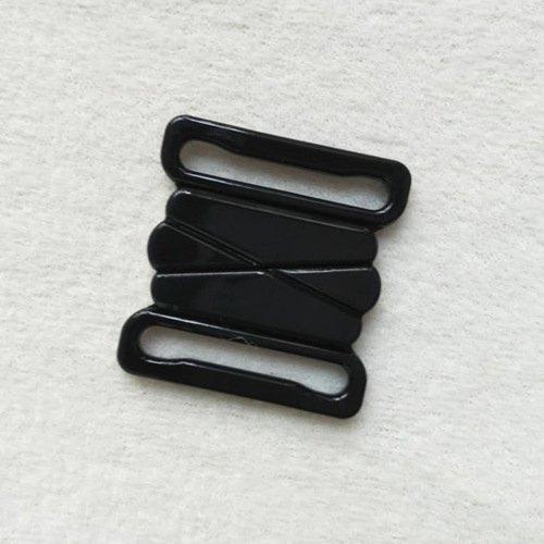Mayrose-Plastic Front closure Buckle clear Clasps L25F47   Bra Hook To Mak