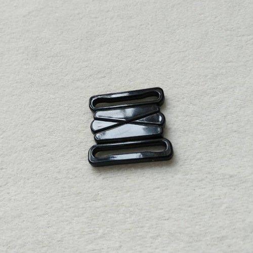 Mayrose-Plastic Front closure Buckle clear Clasps L25F47   Bra Hook To Mak-1