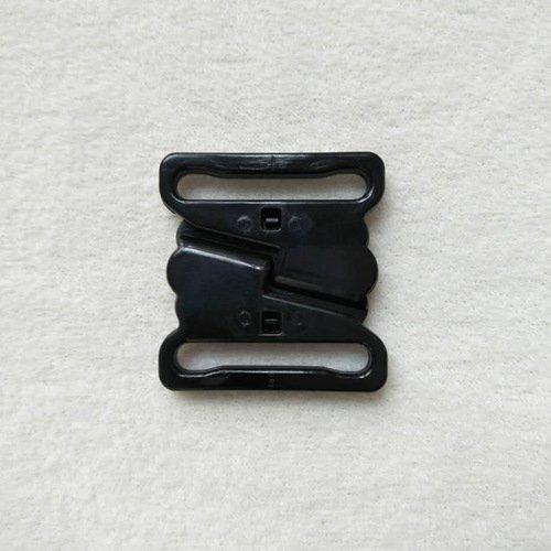 Mayrose-Plastic Front closure Buckle clear Clasps L25F47   Bra Hook To Mak-3