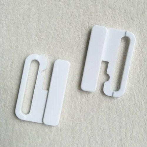 Plastic POM closure big clips L40F56