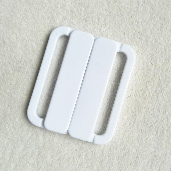 Mayrose-Plastic Front closure Buckle clear Clasps L40F56 | Bra Hook To Mak