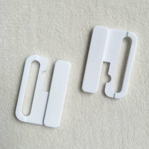 Mayrose-Plastic Front closure Buckle clear Clasps L40F56 | Bra Hook To Mak-2