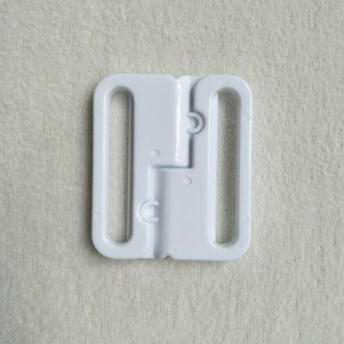 Mayrose-Plastic Front closure Buckle clear Clasps L40F56 | Bra Hook To Mak-3