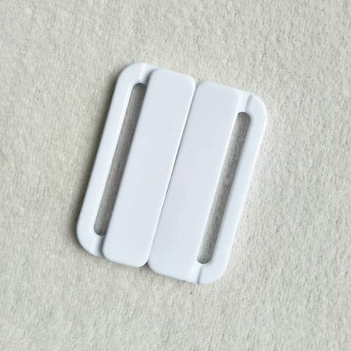 Mayrose-Plastic Front closure Buckle clear Clasps L38F56 | Bra Hook To Mak
