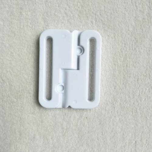 Mayrose-Plastic Front closure Buckle clear Clasps L38F56 | Bra Hook To Mak-3