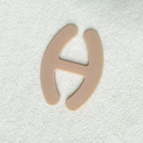 Mayrose-Plastic bra strap clips H shape