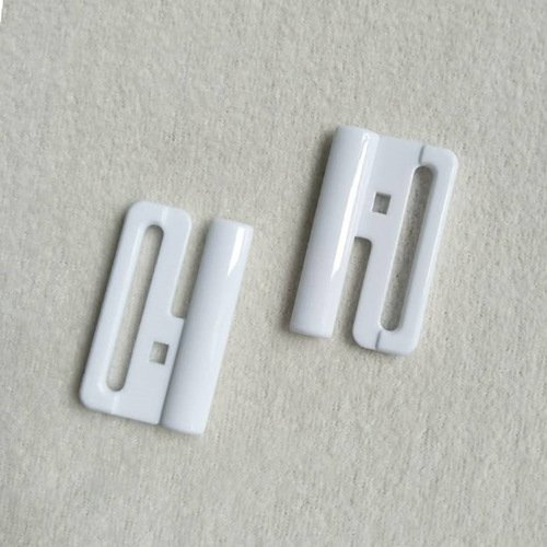 Mayrose-Plastic Front closure Buckle clear Clasps L30F60 | Bra Hook To Mak-2