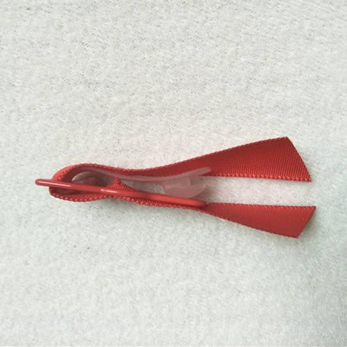 Mayrose-Nylon Coated Adjuster garter with satin | Metal Slide Adjuster-2