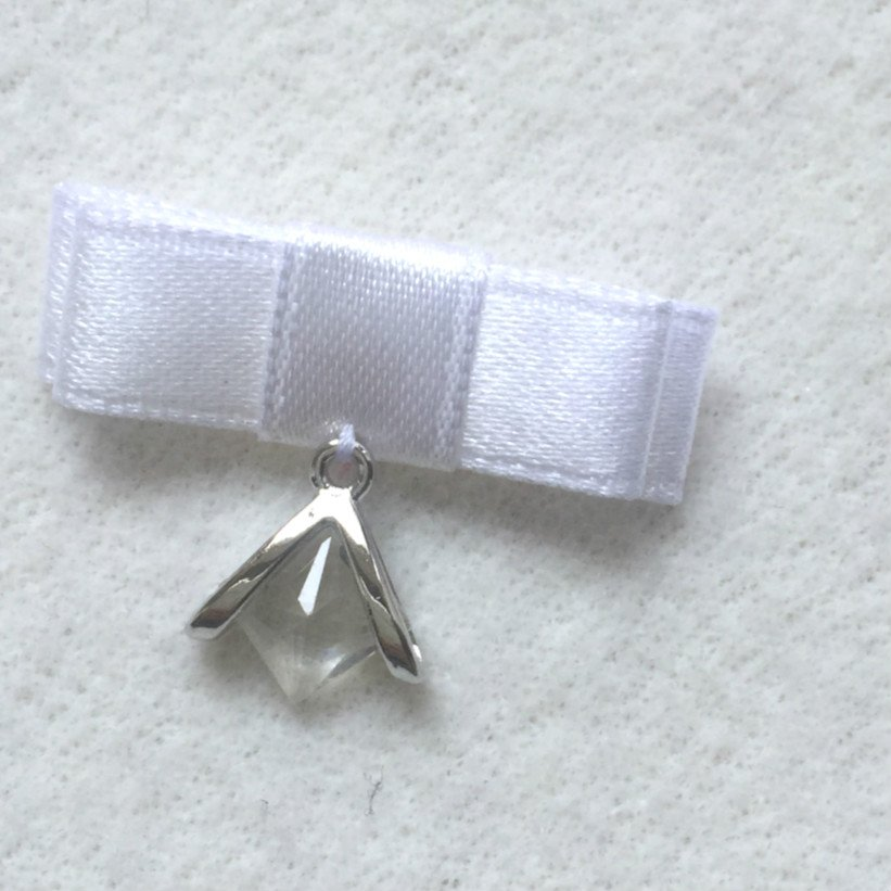 Mayrose-Nylon Ribbon Bow #36 | Chiffon Bow | Bow-1