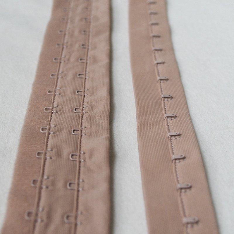 Uncut 2x3/4 bra hook and eye tape