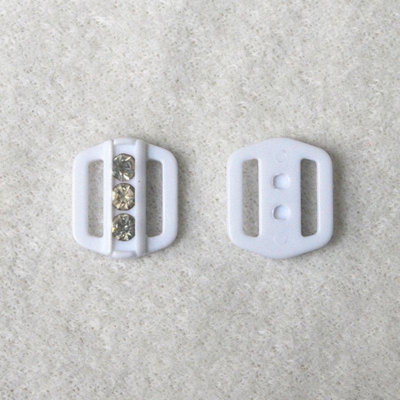 Mayrose-Bra Clip Extender, Plastic Adjuster Front Closure L9hld-1