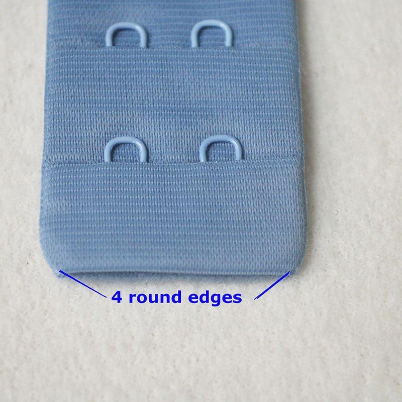 3x2/30mm four round edges hook and eye tape