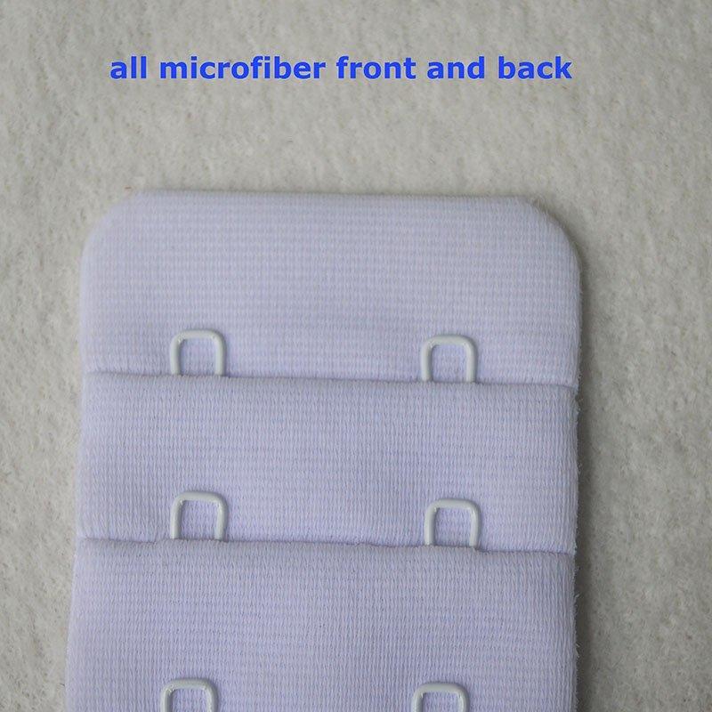 4x2/38mm microfiber hook and eye