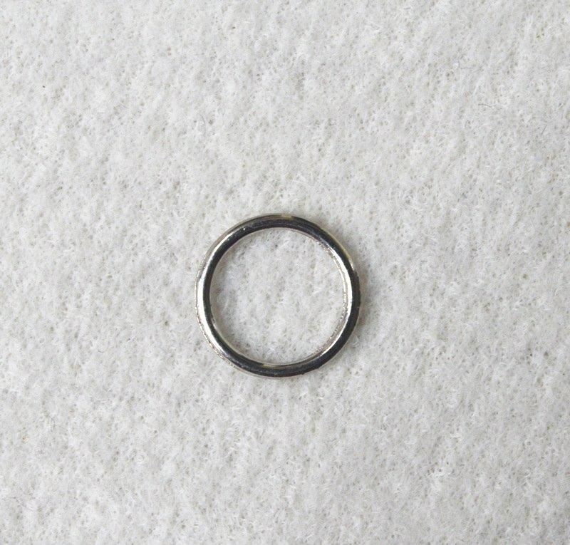 silver/gold ring size from 6mm to 30mm