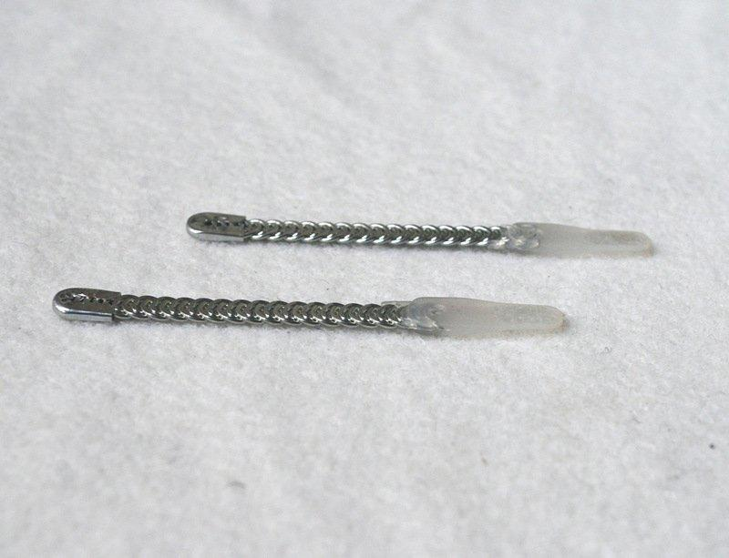 Spiral wires boning with one tips plastic