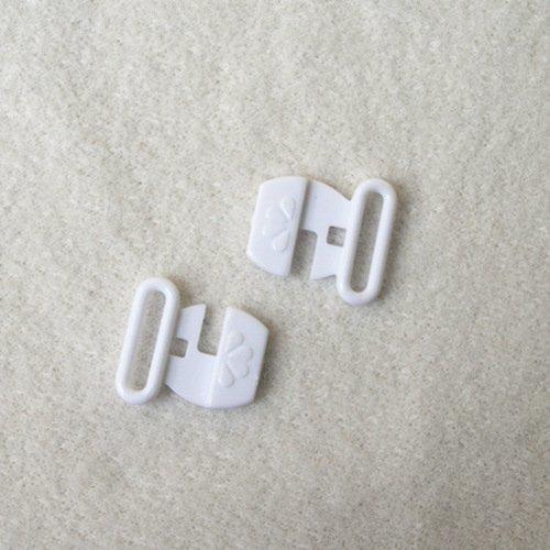Plastic front closure clasps L12F22