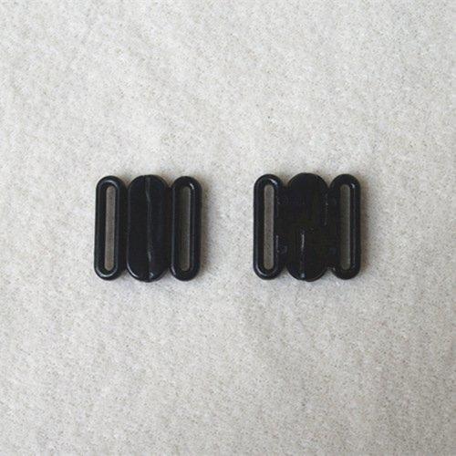 Plastic front closure clasps L14F24