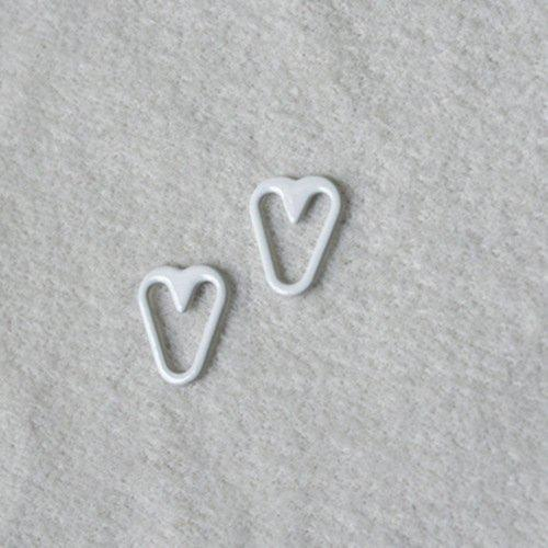 Mayrose-Nylon Coated Heart Shape Q012 | Bra Extension For Backless Dress | Rin-2