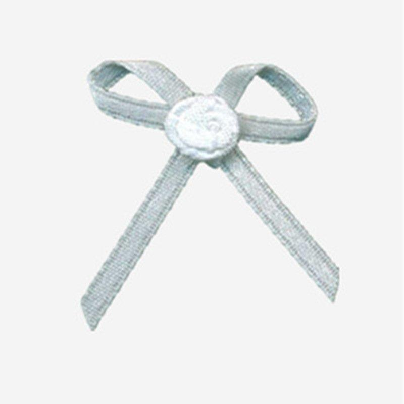 Mayrose-Find Nylon Ribbon Bow #13 With Flower | Satin Ribbon Bows