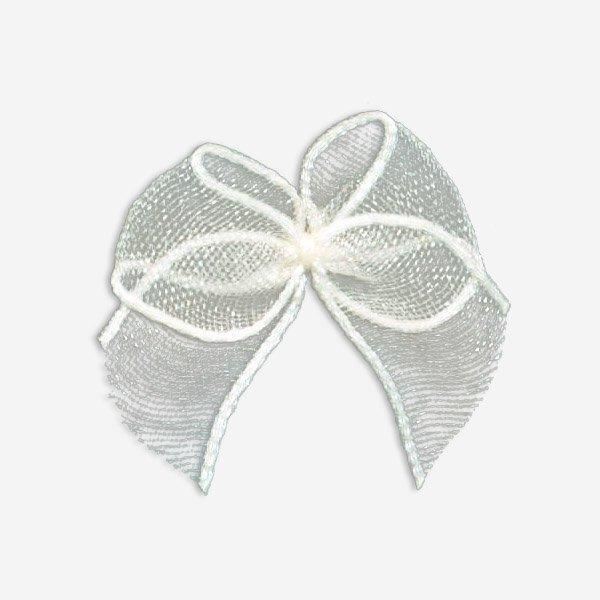 Mayrose-Find Nylon Ribbon Bow #05t Chiffon Bow From Mayrose Fastener-1