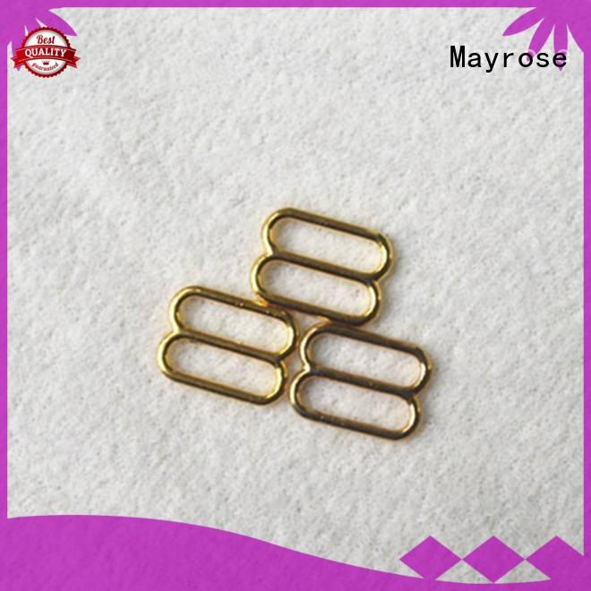 Mayrose zinc alloy metal slide adjuster marketing for bra