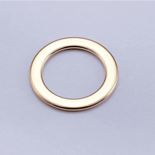 Mayrose-High Quality Zinc Alloy Adjuster Ring 012-2 | Ringslidehookspeical Shape-1