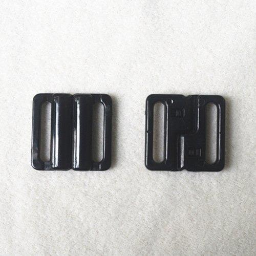 Mayrose-Plastic Pom Closure Buckles L20f45   Bucklefront Closureclaspsgartersuspender-2