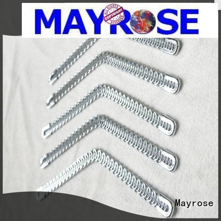 Mayrose customized spiral steel boning High Tenacity millinery