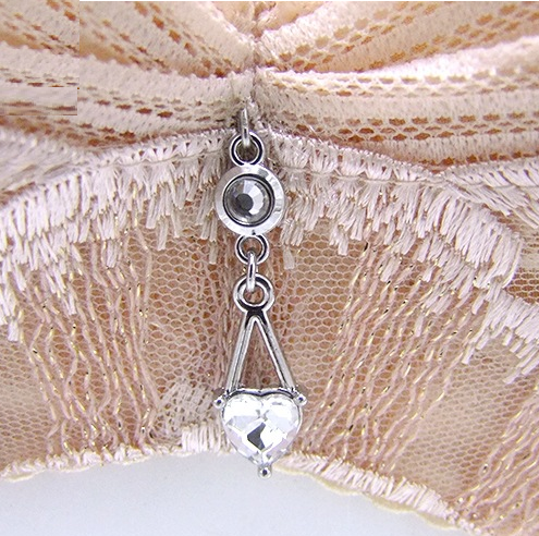 Mayrose-Find Bra Charms 7439 Silver Plating With Crystal-2