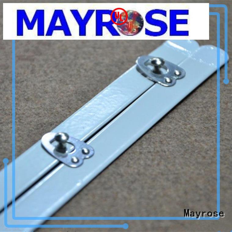 Mayrose stainless steel plastic boning para lingerie