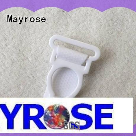 Mayrose lead free plastic bra strap adjusters in china for bra