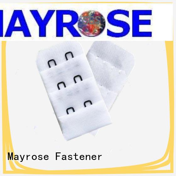 Mayrose reinforced hook and eye fastening Eco-friendly garment