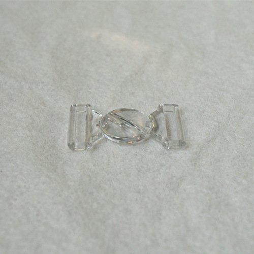Mayrose-Plastic Clear Clasps L16f33 | Bucklefront Closureclaspsgartersuspender