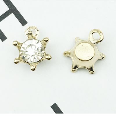 Mayrose-Best Bra Charms 1054 Coloured Crystal Rhinestone Hardware Decorations-1
