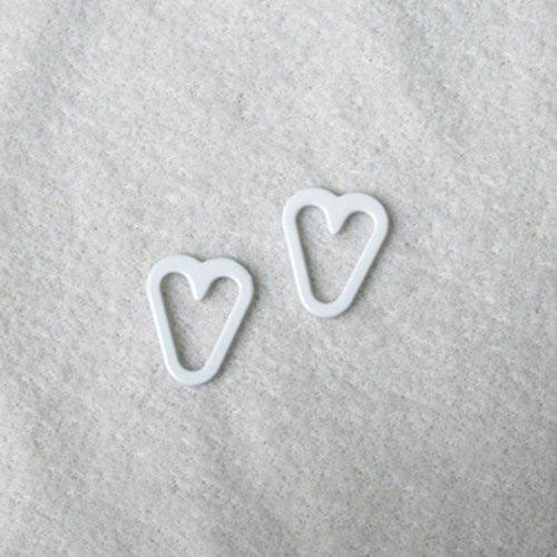 Mayrose-Best Nylon Coated Heart Shape Ps16 Bra Extender For Backless Dress