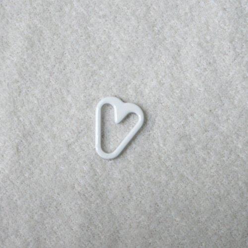 Mayrose-Nylon Coated Heart Shape Q012 | Bra Extension For Backless Dress | Rin-1